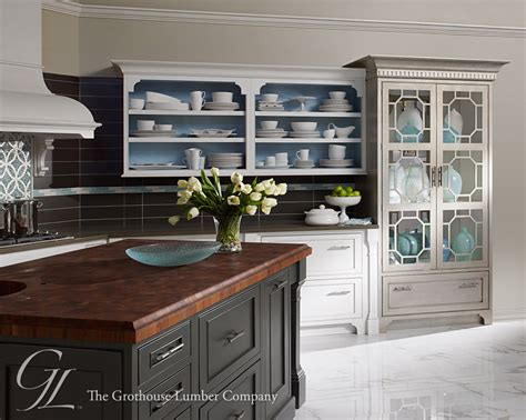 fancy kitchen cabinets mahogany butcher block island countertop in pennsylvania