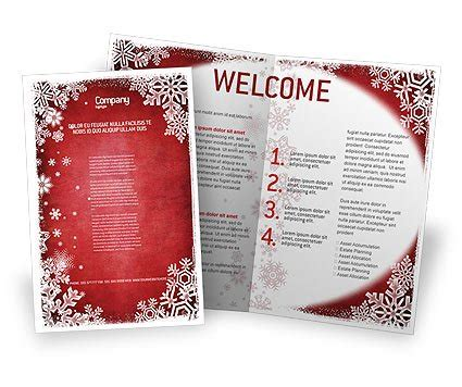 christmas program template free program templates best template idea