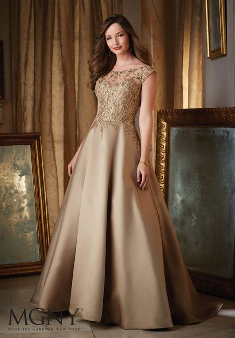 Satin Evening Dress Style  Morilee