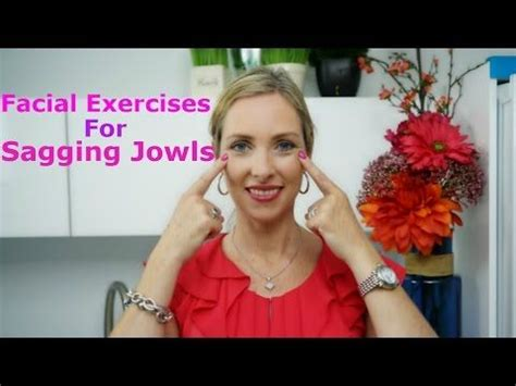 sagging jowls trick 1 face exercises to lose face fat yoga facial exercises how to lose sagging jowls chubby