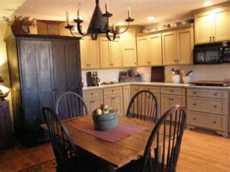 primitive kitchen ideas primitive colonial kitchen quot forever quot home ideas pinterest