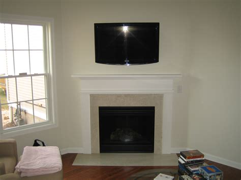 Mounting Tv Fireplace Where To Put Components by Clinton Ct Mount Tv Above Fireplace Richey Llc Audio Experts