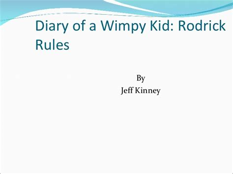 diary of a wimpy kid rodrick book report summary psch book report