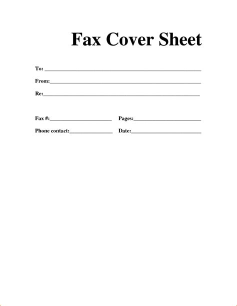 fax form template 6 exle fax cover sheet teknoswitch
