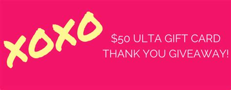 Ulta Gift Card Giveaway - beauty is within a blog about inner beauty outer beauty fashion and wellness