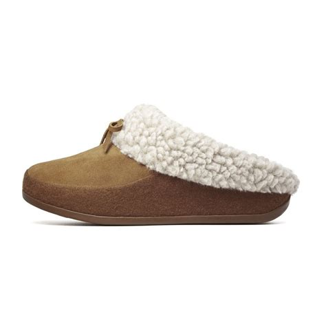 in slippers fitflop cuddler womens sheepskin slippers in wool