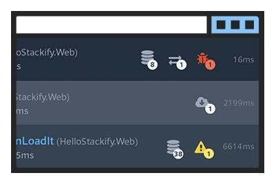 prefix: .net & java profiler web request tracing for