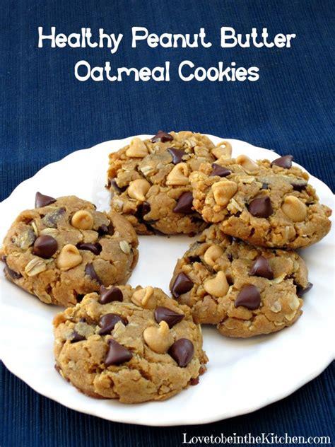 peanut butter oatmeal treats healthy peanut butter oatmeal cookies