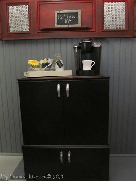 Coffee Bar Cabinet Portable Coffee Bar