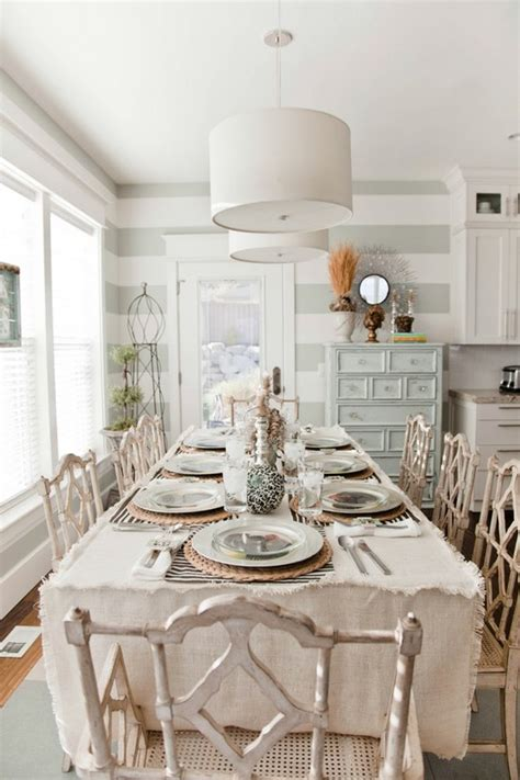 39 Beautiful Shabby Chic Dining Room Design Ideas Digsdigs Chic Dining Room Ideas