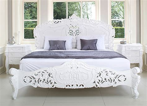 french chic style bedroom french rococo bed shabby chic style bedroom other by rococo interiors