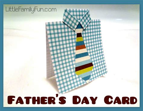 make a fathers day card family easy s day card