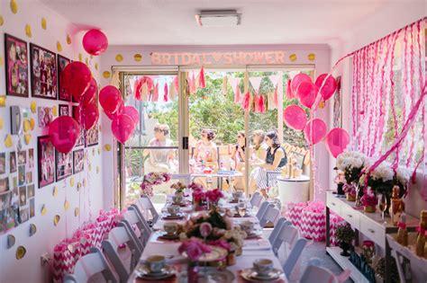 diy high tea bridal shower a glittering pink high tea shower in sydney australia