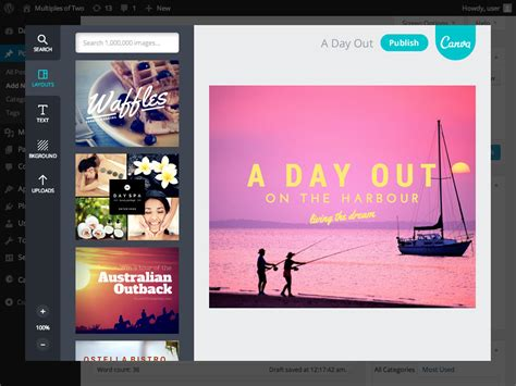 canva blog canva design beautiful blog graphics wordpress plugins