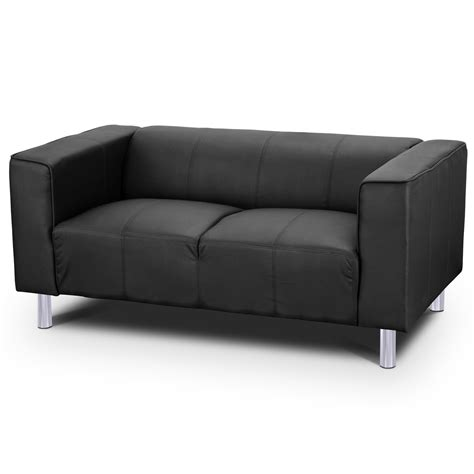 Modern Faux Leather Sofa 2 Seater Leather Sofa Toscana Faux Leather Modern Settee Arm Style Ebay