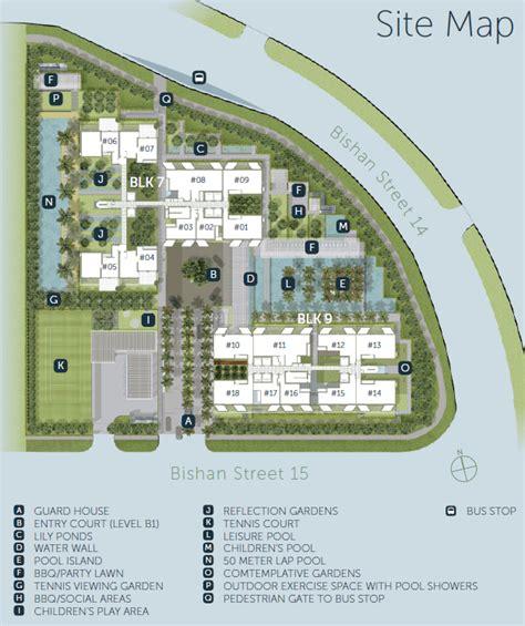 The Gardens At Bishan Floor Plan Sky Habitat Site Plan Sky Habitat Condo Layout Plans