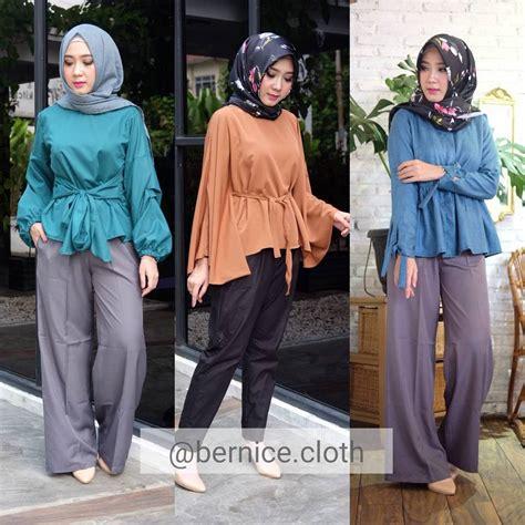 Kombinasi Baju Warna Ungu Dengan Jilbab 10 contoh perpaduan warna baju hijau tosca dengan jilbab paling modis