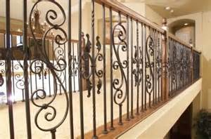 Decorative Balusters Custom Iron Stair Balusters Traditional Staircase