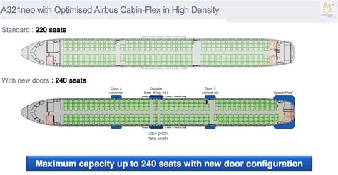 airbus a320 cabin layout a321neo configurations and a320 production leeham news