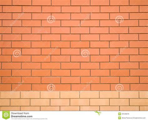 two colors brick wall stock photo image 43126876