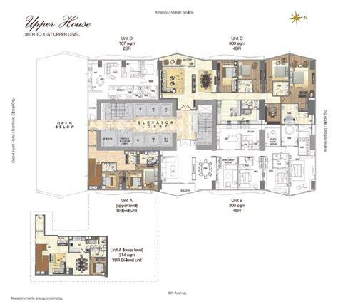 grand floor plans grand hyatt manila residences click now