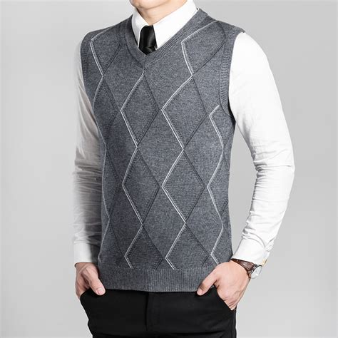 knitting pattern mens sleeveless vest popular men sweater vest knitting pattern buy cheap men