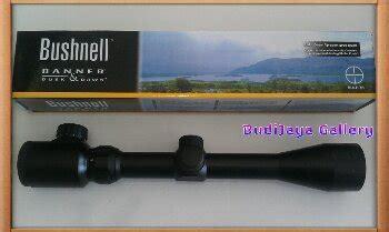 Tele Bushnell 3 9x40eg Mildot teleskop airrifle scope toko alat pertukangan dan berburu aksesoris senapan angin dll