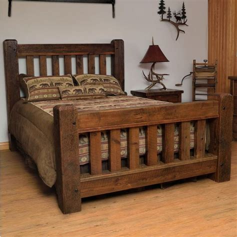 Bett Aus Altem Holz by Best 25 Timber Bed Frames Ideas On Rustic
