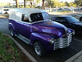 1950 chevrolet panel truck classic rod