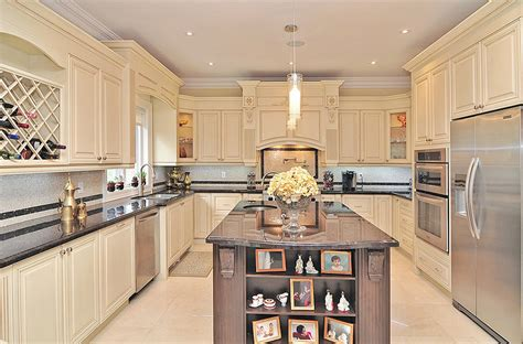 Kitchen Island Space by Classic Kitchen Design And Renovation In Richmond Hill
