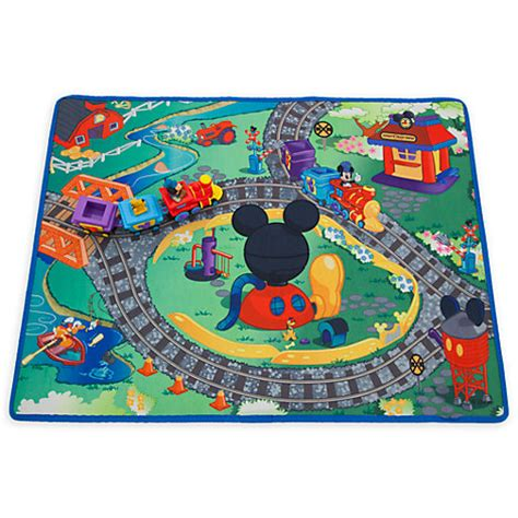 Disney Mickey Mat - disney store mickey mouse playmat play set ebay