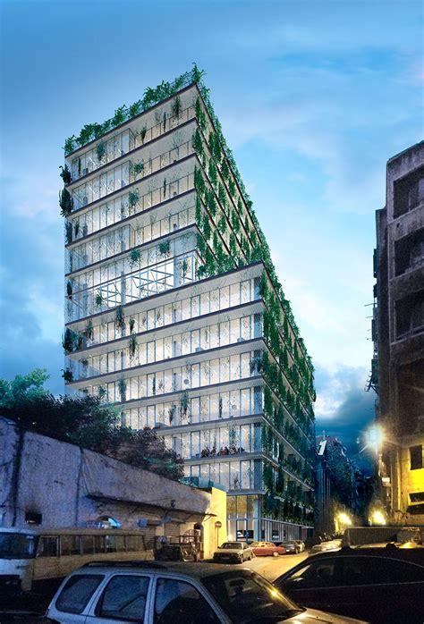 render  arquitectura  render  edificio en beirut