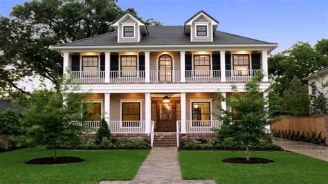 Two story porch house plans