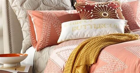 Chevron Pattern Bedding Sets Adore The Chevron Pattern On This Coral Bed Set Home Base Gray Bed Patterns