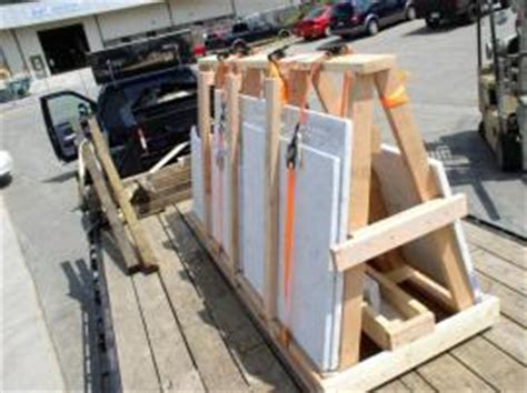 Transporting Granite Countertops by Cost To Ship Quartz Countertops On A Frame From