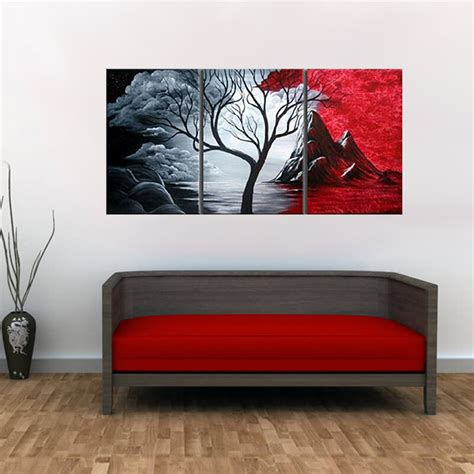 modern abstract painting wall decor landscape canvas wall