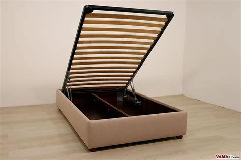 letto contenitore una piazza letto con contenitore una piazza e mezza senza testata sommier
