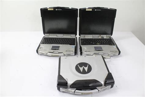motorola rugged laptop motorola rugged laptops 3 items property room