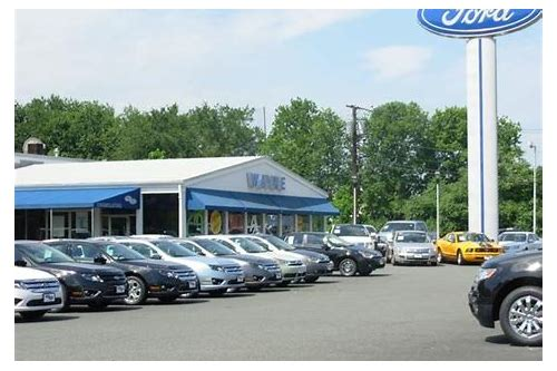 ford dealership service deals