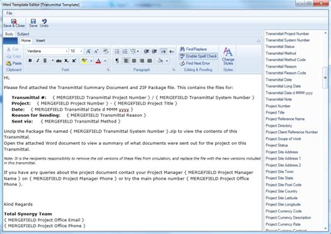 project manager email templates transmittal email template