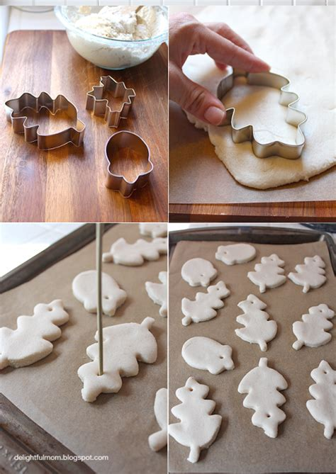 flour and water decorations diy flour dough to make various decorations shelterness
