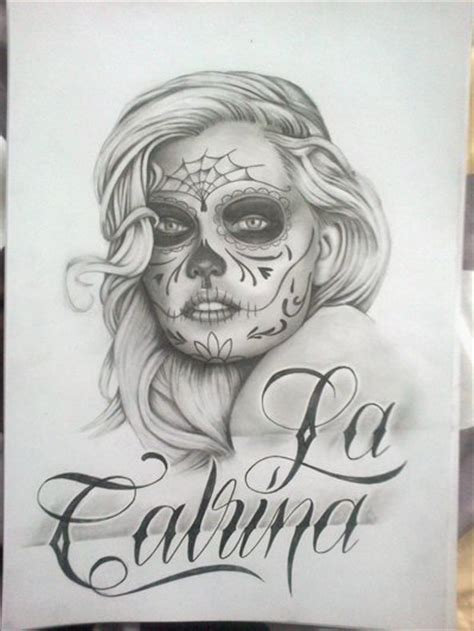 la catrina by smurfpunk on deviantart