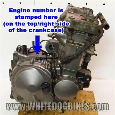 Kawasaki Engine Number Decoder by Kawasaki Motorcycle Engine Vin Decoder Motorview Co