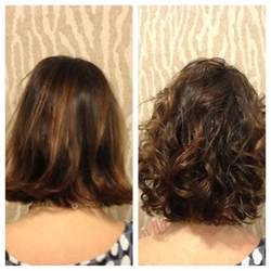 wave perm hairstyle before and after on hair american wave before and after by heidi of salon sabeha