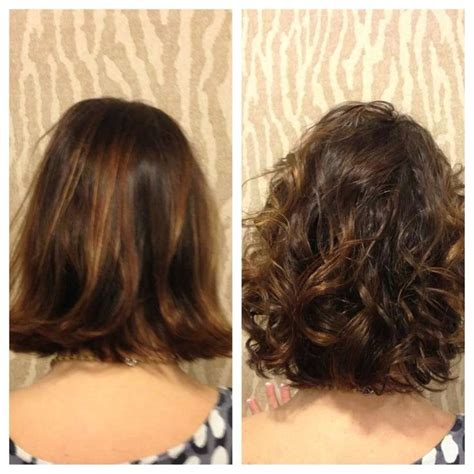 before and after photos of permant waves with frizzy hair american wave before and after by heidi of salon sabeha american wave pinterest perms and