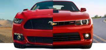 2015 ford mustang vs 2015 chevy camaro