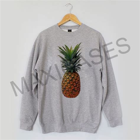 Sweater Pineapple 2 pineapple sweatshirt sweater unisex adults size s to 2xl