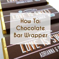 custom wrappers templates free printable bar wrappers for wedding favors a