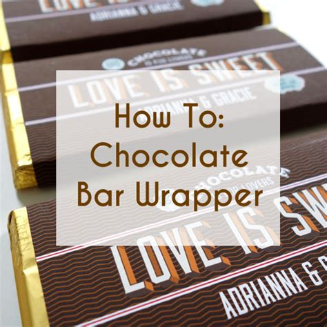 chocolate bar label template free printable bar wrappers for wedding favors a
