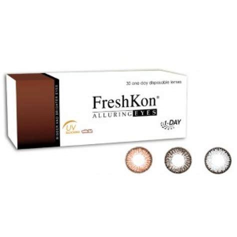 Softlens Soflens Soflen Freshkon Alluring Winsome Brown buy freshkon alluring eyes1 day lens4vision